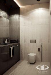 Визуализация интерьера квартиры в современном стиле в ЖК Мосфильмовский 8