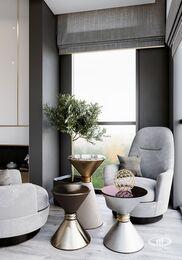Дизайн интерьера квартиры в ЖК Дом Серебряный Бор | Фото №6