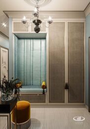 Дизайн проект квартиры в ЖК Достояние | 3D-визуализация №10