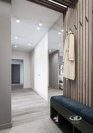 Дизайн интерьера большой квартиры в современном стиле | 3d-визуализация №8