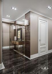 Дизайн интерьера четырехкомнатной квартиры в ЖК Розмарин стиль Ар-Деко | Фото №16