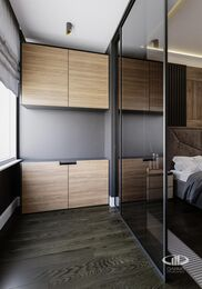 Дизайн интерьера четырехкомнатной квартиры в ЖК Розмарин стиль Ар-Деко | Фото №8