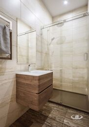 Дизайн интерьера трехкомнатной квартиры в ЖК Достояние современный стиль | 3d-визуализация №12