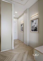 Дизайн евротрешки в ЖК Долина Сетунь   Спальня в классическом стиле