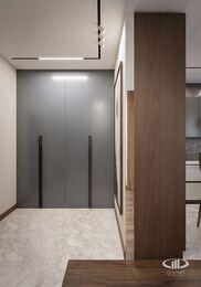 Дизайн интерьера квартиры в ЖК Город на Реке Тушино-2018 | Фото №10 | Прихожая