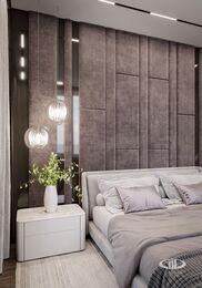 Дизайн интерьера квартиры в ЖК Город на Реке Тушино-2018 | Фото №12 | Спальня
