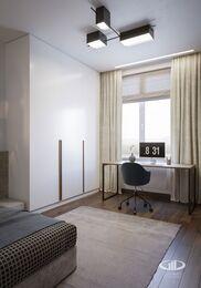 Дизайн интерьера квартиры в ЖК Город на Реке Тушино-2018 | Фото №20 | Детская комната для мальчика