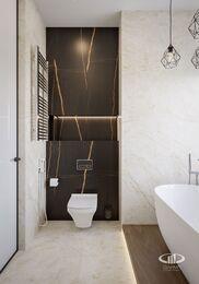 Дизайн интерьера квартиры в ЖК Город на Реке Тушино-2018 | Фото №26 | Ванная комната