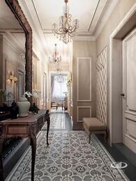 Квартира в классическом стиле | Визуализация №5