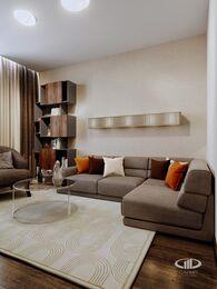 Дизайн интерьера квартиры в ЖК Авеню 77   Стиль Ар-Деко   Фото №4