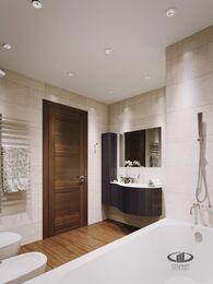 Дизайн интерьера квартиры в ЖК Авеню 77   Стиль Ар-Деко   Фото №12