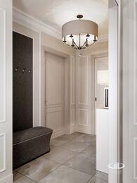 Дизайн двухкомнатной квартиры в ЖК Мосфильмовский   Неоклассика   Фото №3