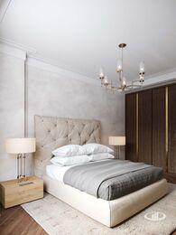 Дизайн интерьера 3-х комнатной квартиры в ЖК Лица | Современный стиль | 3d-визуализация №15