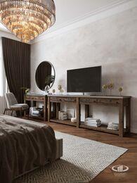 Дизайн интерьера 3-х комнатной квартиры в ЖК Лица | Современный стиль | 3d-визуализация №18