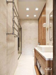 Дизайн интерьера 3-х комнатной квартиры в ЖК Лица | Современный стиль | 3d-визуализация №23