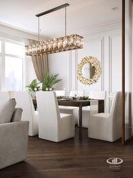 Дизайн интерьера 3-х комнатной квартиры в ЖК Лица | Современный стиль | 3d-визуализация №3
