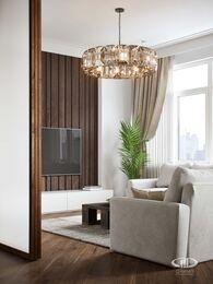 Дизайн интерьера 3-х комнатной квартиры в ЖК Лица | Современный стиль | 3d-визуализация №7
