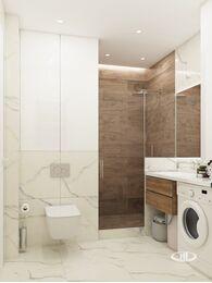 Дизайн интерьера квартиры в современном стиле ЖК Счастье в Тушино | 3d-визуализация №16