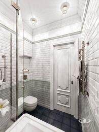 Дизайн интерьера 3-комнатной квартиры в ЖК Мосфильмовский   Фото №10
