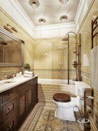 Дизайн интерьера 3-комнатной квартиры в ЖК Мосфильмовский   Фото №11