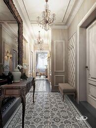 Дизайн интерьера 3-комнатной квартиры в ЖК Мосфильмовский   Фото №5