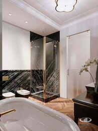 Дизайн интерьера 2-х комнатных апартаментов в МФК Balchug Viewpoint | 3d-визуализация №8