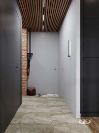 Дизайн квартиры в ЖК ЗИЛАРТ | 3d-визуализация №11  | Прихожая в стиле Лофт