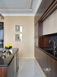 Дизайнерский ремонт квартиры в ЖК Сердце Столицы фото №10 | Кухня-гостиная