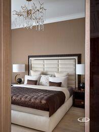 Дизайнерский ремонт квартиры в ЖК Сердце Столицы фото №15 | Спальня