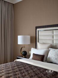 Дизайнерский ремонт квартиры в ЖК Сердце Столицы фото №17 | Спальня