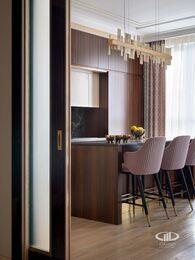 Дизайнерский ремонт квартиры в ЖК Сердце Столицы фото №3 | Кухня-гостиная