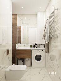Дизайн интерьера квартиры в современном стиле ЖК Счастье в Тушино | 3d-визуализация №17