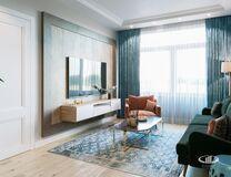 Интерьер квартиры в смешанном стиле | 3D-визуализация №2
