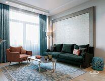 Интерьер квартиры в смешанном стиле | 3D-визуализация №5