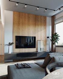 Дизайн интерьера квартиры в стиле минимализм в ЖК Лица | Фото №2