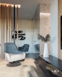 Дизайн интерьера квартиры в стиле минимализм в ЖК Лица | Фото №5