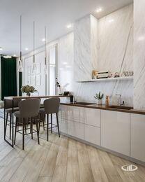 Дизайн интерьера квартиры в ЖК Балчуг Вьюпоинт в стиле современная классика | Фото №3