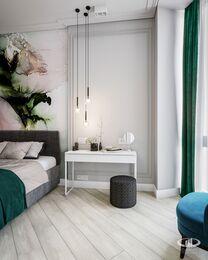 Дизайн интерьера квартиры в ЖК Балчуг Вьюпоинт в стиле современная классика | Фото №7