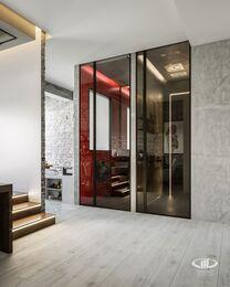 """Дизайн квартиры в ЖК City Park в стиле """"Лофт"""""""