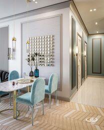 Дизайн проект квартиры в ЖК Достояние | 3D-визуализация №7