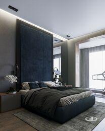Квартира в современном стиле ЖК RedSide | 3d-визуаизайия №6