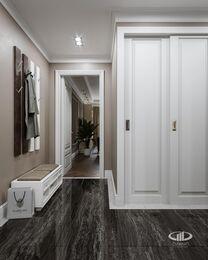 Дизайн интерьера четырехкомнатной квартиры в ЖК Розмарин стиль Ар-Деко | Фото №18