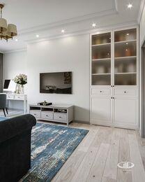 Дизайн интерьера квартиры в стиле современная классика ЖК Розмарин | Фото №3