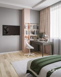 Дизайн интерьера 3-комнатной квартиры в ЖК Искра Парк | Фото №10