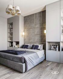 Дизайн интерьера трехкомнатной квартиры в ЖК Достояние современный стиль | 3d-визуализация №8