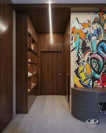 Дизайн 3-комнатной квартиры в ЖК Вишневый сад | Фото №15