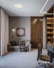 Дизайн 3-комнатной квартиры в ЖК Вишневый сад | Фото №17