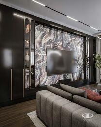 Дизайн 3-комнатной квартиры в ЖК Вишневый сад | Фото №3