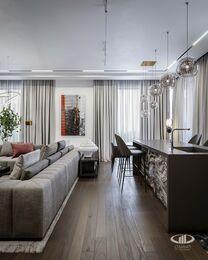 Дизайн 3-комнатной квартиры в ЖК Вишневый сад | Фото №5