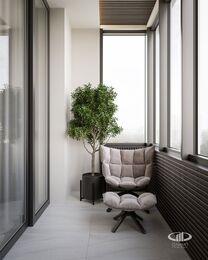 Дизайн интерьера квартиры в ЖК Город на Реке Тушино-2018 | Фото №15 |  Лоджия